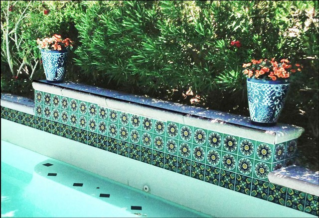 Pool Photos From Latin Accents Tiles Mediterranean