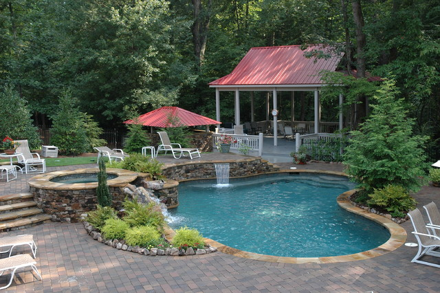 Pool Projects - Traditional - Pool - Atlanta - By Elements Landscape