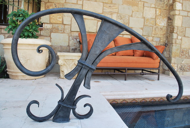 Pool railing contemporary phoenix by grizzly