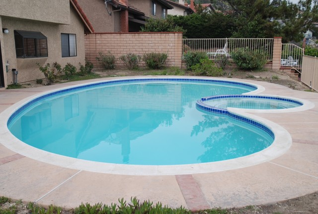 Pool Replaster And Retile Traditional Pool Other By Hls Remodeling And Design Inc