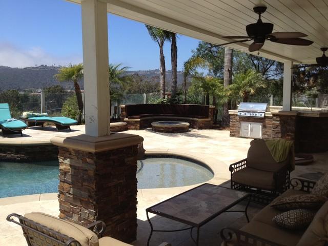 Backyard With Pool Remodel : atlas pools inc swimming pool builders