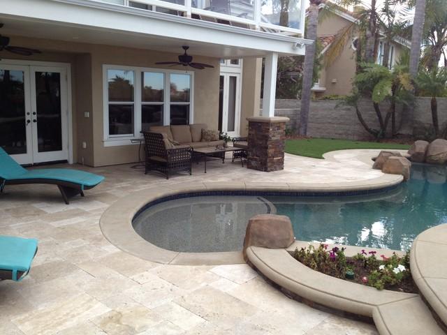 Backyard With Pool Remodel : atlas pools inc pools spas