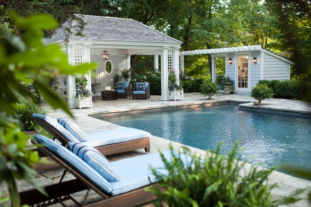 Pool Structures American Traditional