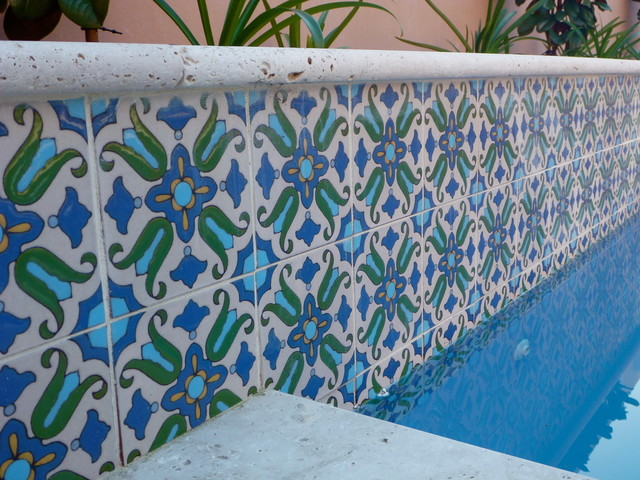 Pool Waterline Tile Perth Mediterranean
