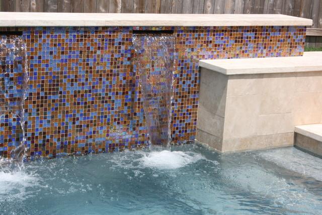 Pools & Outdoor Mosaics contemporary-pool