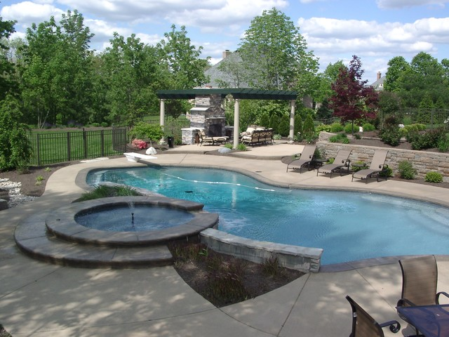 Pools & Spas traditional-pool