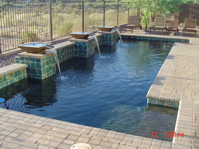 Pools for small spaces