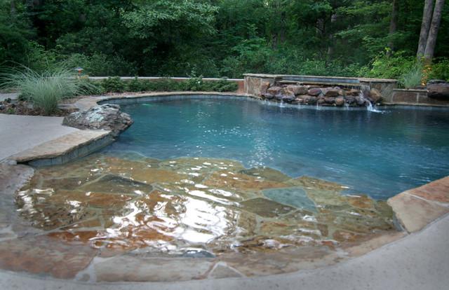 Pools modern pool houston by preferred pools inc for Swimming pool supplies houston