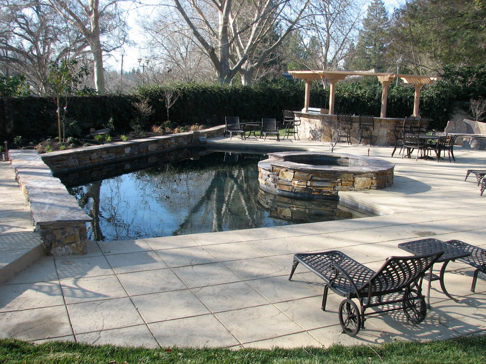 Example of a pool design in San Francisco
