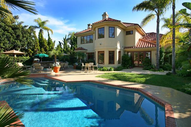 Pools mediterranean pool orange county by v i for Pool design orange county