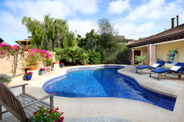 Pools mediterranean pool other by v i photography for Pool design houzz