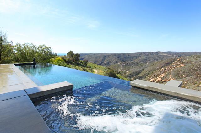 Pools contemporary pool orange county by v i for Pool design orange county