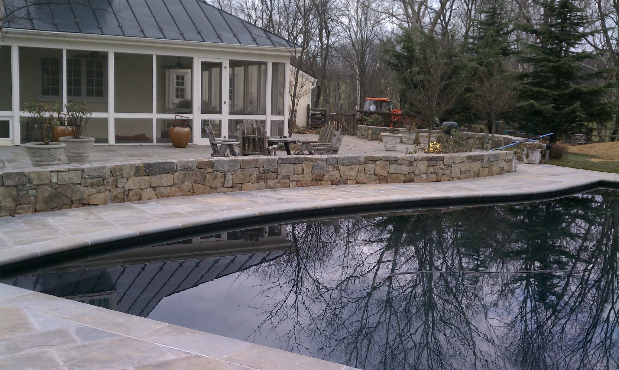 Poolside in Hunt Country