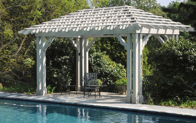Bathroom remodeling in west chester pa traditional bathroom - Poolside Pergola In West Chester Pa Traditional Pool