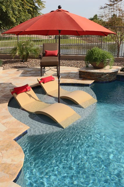 Poolside Relaxation Contemporary Pool Phoenix By