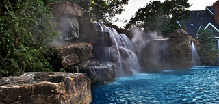Luxury Pool Water Features