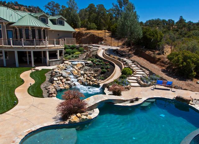 Pools Spas Tropical Breeze Pebble Tec