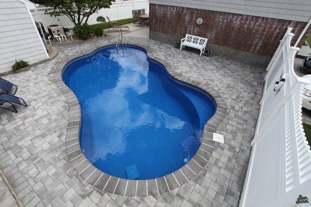 Previous jobs done by backyard masters contemporary for Pool design jobs