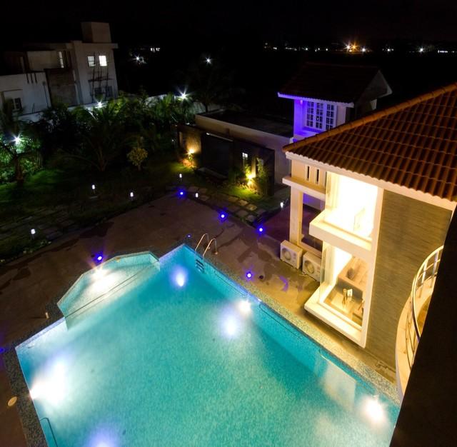Private Beach House Contemporary Pool Chennai By Seema Madan