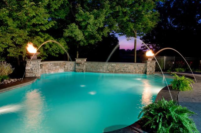 Private Estate #5 traditional-pool