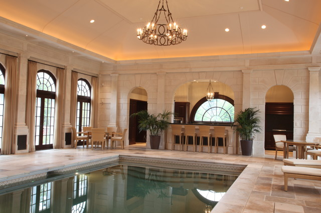 Private Indoor Pool Traditional Pool Boston By