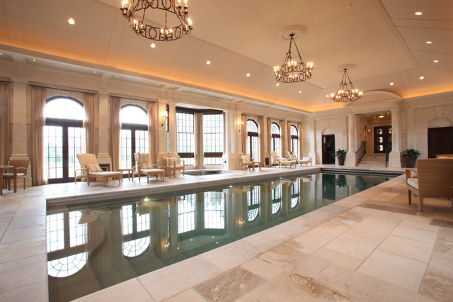 Private indoor pool traditional pool boston by for Private indoor swimming pools