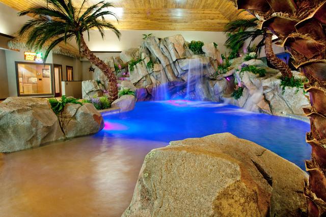 Private Indoor Residence - Tropical - Pool - cincinnati - by Shehan Pools