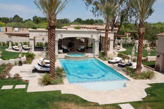 Private Luxury Residence mediterranean-pool