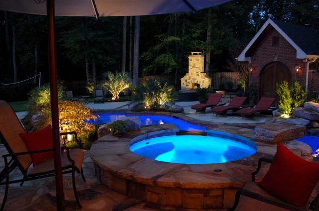 Private Residence Backyard Makeover Greenville Sc