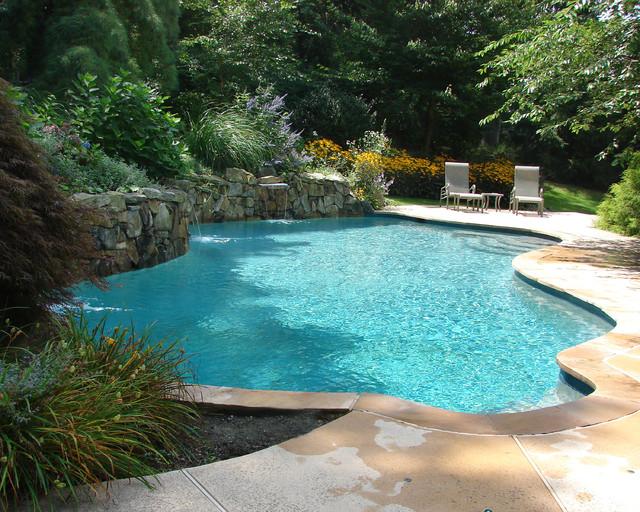 Private Residence - Custom Pool - 5 mediterranean-pool