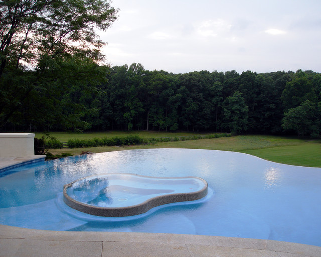 Private Residence - Custom Pool & Spa - 5 contemporary-pool