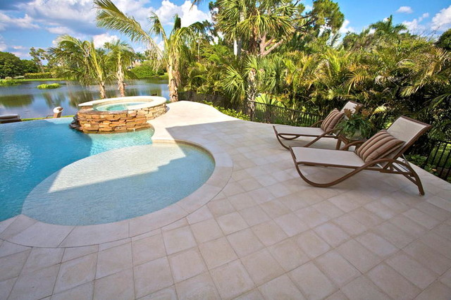 Private Residence - Old Naples, Florida contemporary-pool