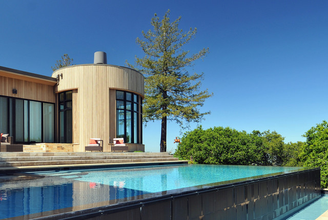 Private Residence Portola Valley modern pool