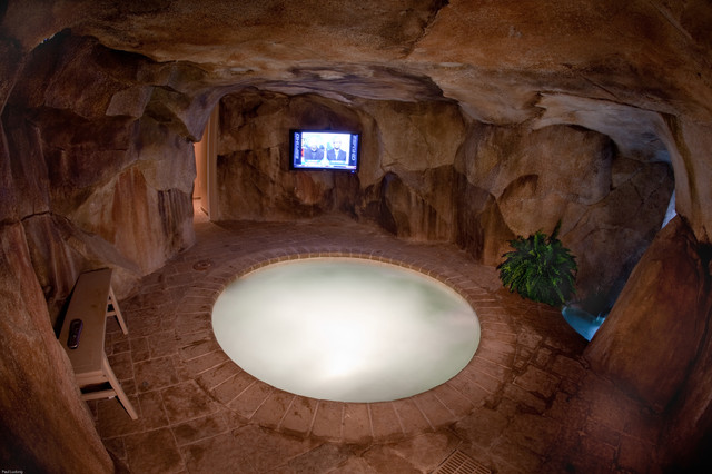 Man Cave Spa : Private residence tropical pool cincinnati by