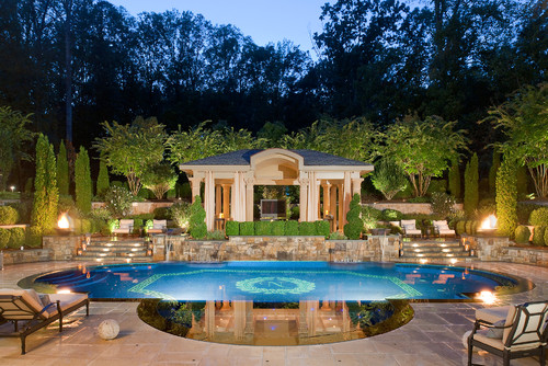 Love The Pool And Landscaping What Kind Of Trees Are