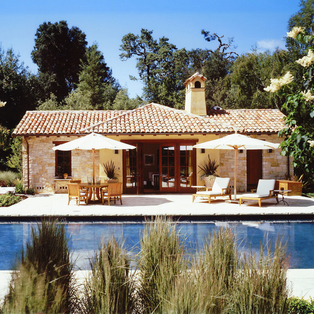 California Small Houses With Pools: Woodside, California