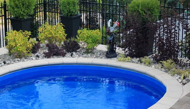 Project of the week pool job in hamilton modern pool for Pool design hamilton
