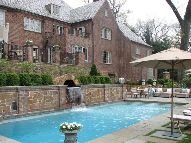 Projects Designed by GreenCraft Landscape Associates traditional-pool