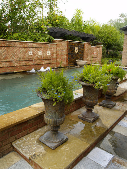 Projects From The Past contemporary-pool