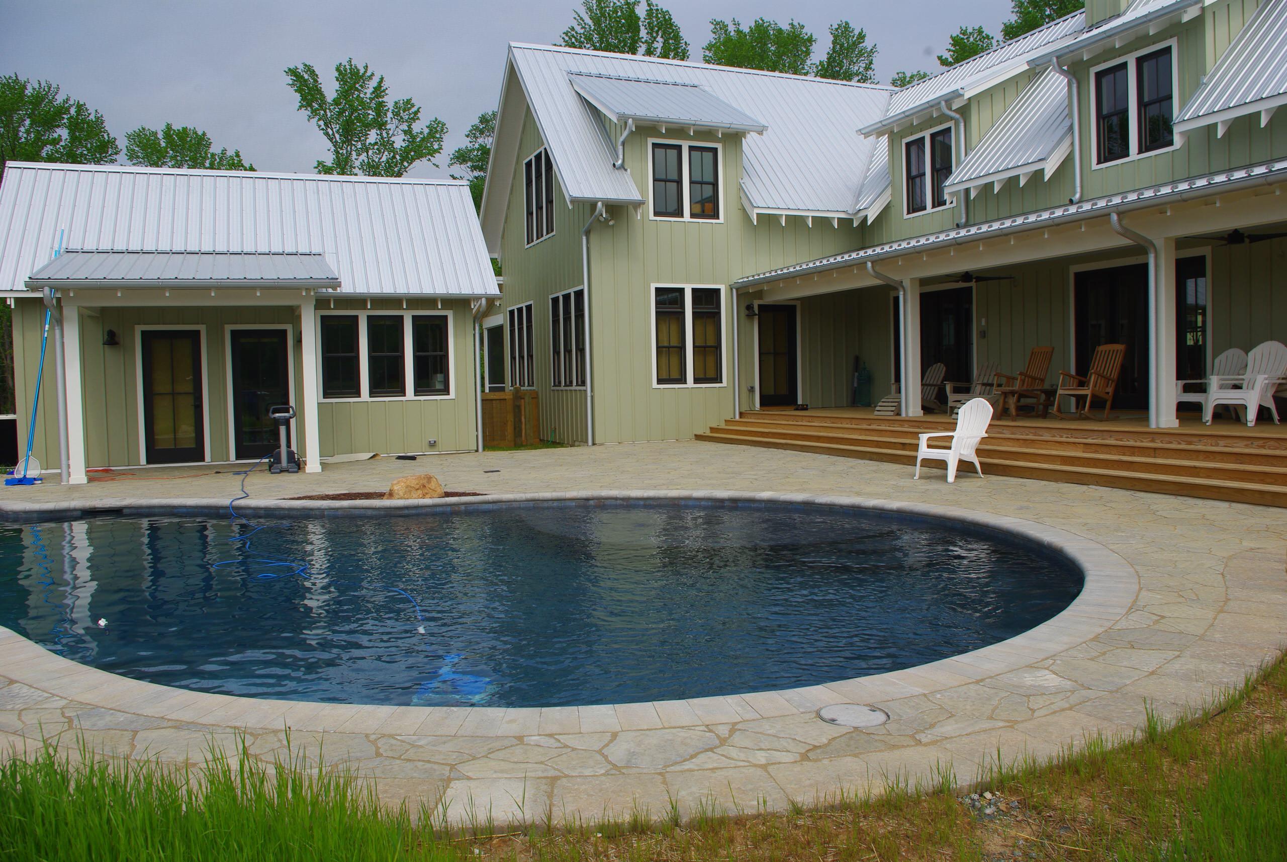 Raleigh Custom Pool Project