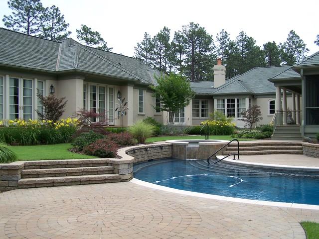 Ramsey Landscape Associates, Inc. contemporary-pool