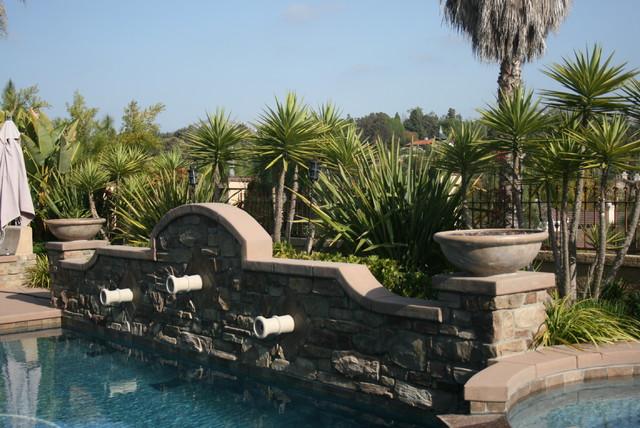 Rancho Bernardo mediterranean-pool