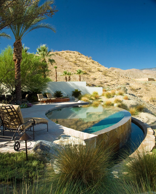 Rancho Mirage Villas mediterranean-pool