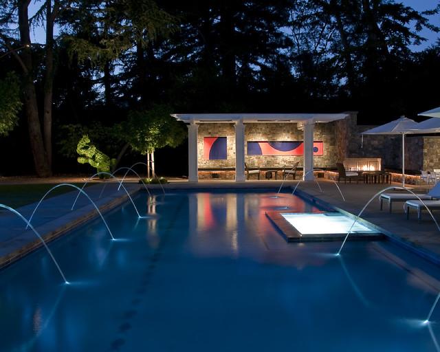 Randy Thueme Design Inc. traditional-pool