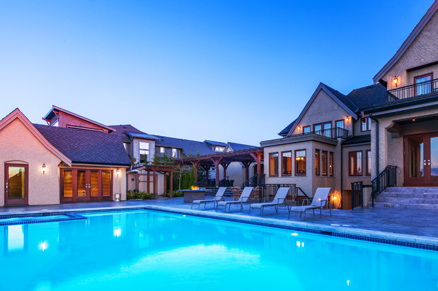 Real Estate Mediterranean Pool Vancouver By Two
