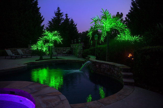 Realistic Led Palm Tree Tropical Swimming Pool Amp Hot
