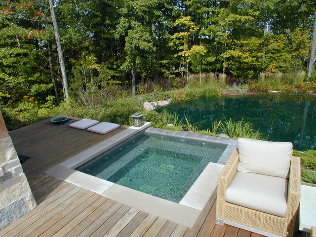 contemporary pool by Fein Design