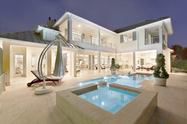 West indies house design contemporary pool miami for West indies style home plans