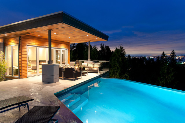 Recent work contemporary pool vancouver by blurrdmedia for Pool design vancouver