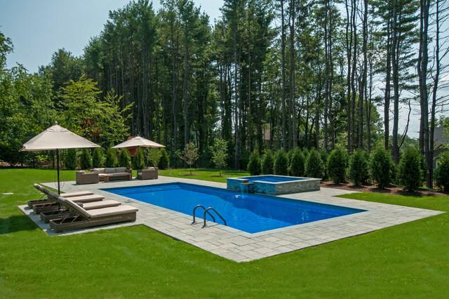 Rectangular Pool With Hot Tub Bindu Bhatia Astrology